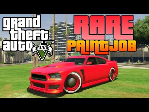 "GTA V - ""Rare Color"" Tutorial 
