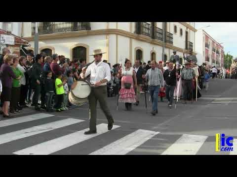 Llegada Hdad. del Rocío Isla Cristina 2018