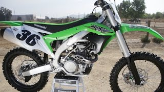 6. First Ride 2017 Kawasaki KX450F - Motocross Action Magazine