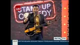 Mudy Taylor @ Stand Up Comedy Show MetroTV 16 April 2014
