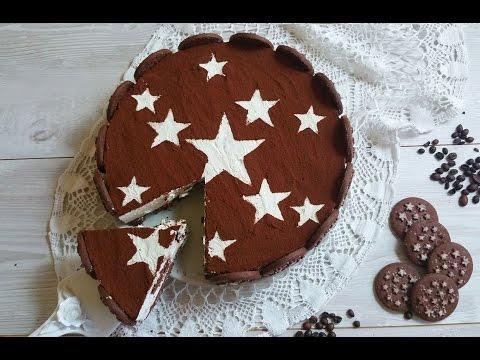 torta fredda pan di stelle - ricetta senza cottura