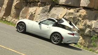 www.autoTRADER.ca test drive of the 2017 Mazda MX-5 RF GT, presented by Justin Pritchard