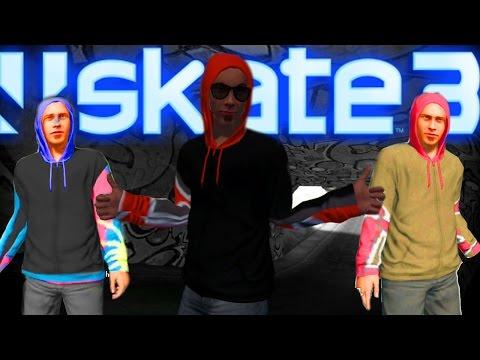 Skate 3 NEW Black Dot Hoodie Glitch! 2016
