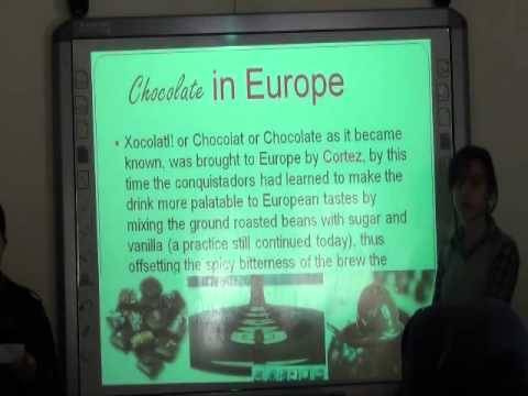 Presentation about Chocolate