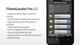 PhoneLocator Pro YouTube video