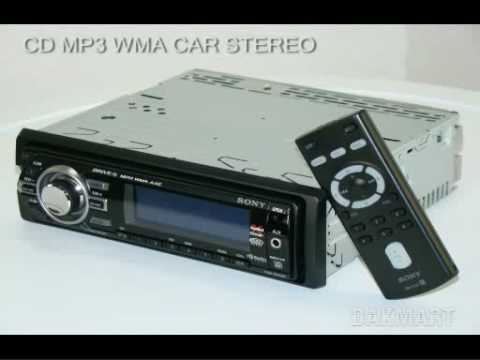 how to reset a sony xplod cd player