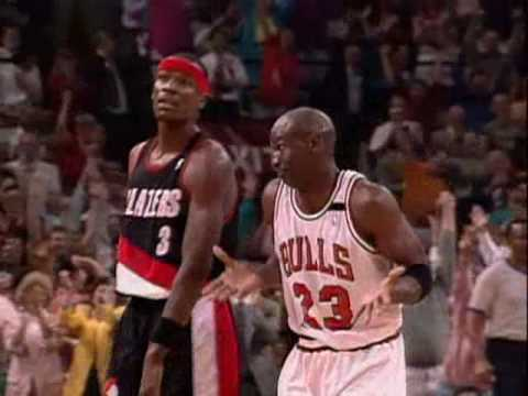 Michael Jordan's 6 3-Pointers vs. Blazers