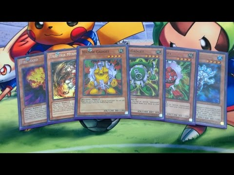 Yugioh Gadgets Deck Profile August 2014 (Logan)