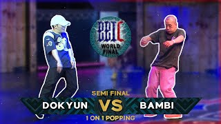 Dokyun vs Bambi – BBIC 2021 Day. 1 1on1 POPPING BATTLE BEST4