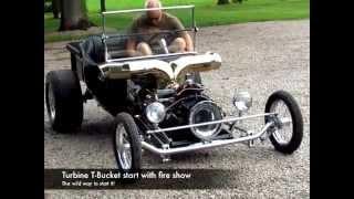 A very pretty turbine powered 1923 Ford T-Bucket goes for a cruise.www.indyboysinc.com