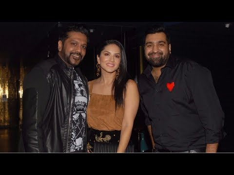 Sunny Leone At Red Carpet Launch Of Priyank Sukhija Jlwa Curated By Rocky S