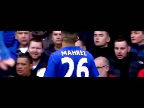 تلاعب رياض محرز بلاعبي مانشستر يونايتد