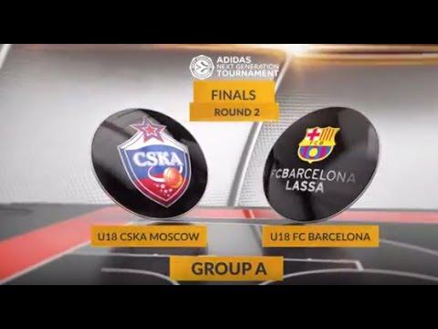 EB ANGT Finals Highlights: U18 CSKA Moscow-U18 FC Barcelona Lassa