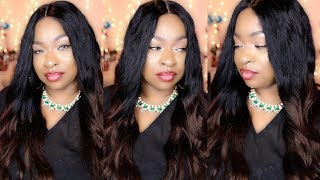 Hey Luvs! Thank you so much for watching my video! Please take the time to Thumbs Up, Leave a Comment and Share my video on your social media. Thank you! XOXO! Watch In HD!Wig link: https://goo.gl/XvJEjKFollow Evawigs on Social Media:Facebook: https://www.facebook.com/evawigsInstagram: https://www.instagram.com/evawigsYoutube: https://www.youtube.com/user/evawigs  Pinterest: https://www.pinterest.com/evawigsNEW 15% off discount for ur subscribers, the code is: sexxyfarrah , for all human hair wigs.long-wavy-ombre-full-lace-human-hair-wig.htmlsku: cew130Hair Type: Brazilian Virgin Hairhair Length: 22 InchesTop Color: #1 jet BlackBottom Color: Same as pictureHair Density: 150%BABY HAIRS: YEScap: cap-3A.Glueless Full Cap with Combs and adjustable strapshairline: Natural Cap Size Averagelace Color:Medium Brow😍SNAPCHAT- SEXXYFARRAH😊Follow me on Instagram😊 https://www.instagram.com/donna_alise/😊Friend Me on Facebook 😊https://www.facebook.com/Donna-Alise-212010242199270/notifications/