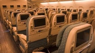 SINGAPORE AIRLINES SINGAPORE-ZURICH AIRBUS A380 ECONOMY CLASS