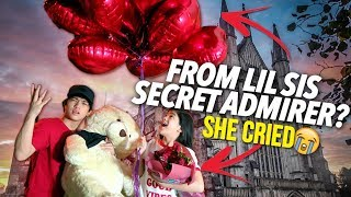 Video SOMEONE GAVE MY LIL SIS A VALENTINE GIFT?! (Secret Admirer) | Ranz and Niana MP3, 3GP, MP4, WEBM, AVI, FLV Februari 2019