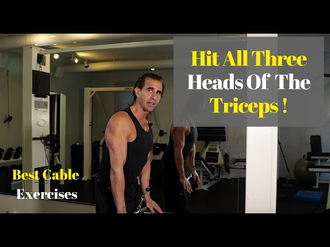 How to Train All Three Heads Of The Triceps