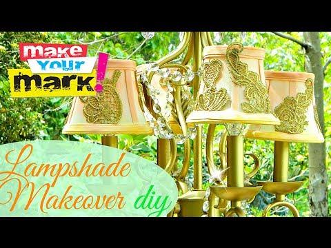 Lampshade Makeover DIY