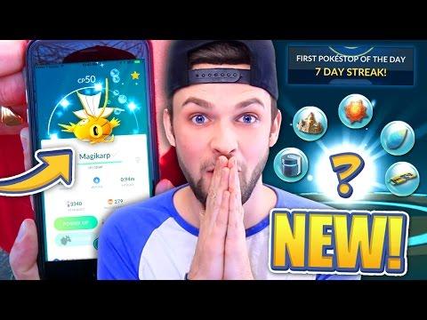 Pokemon GO - ✨Can I get a SHINY MAGIKARP?! 😱 (+ SUPER RARE EVOLUTION!)