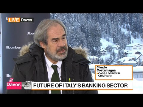 CDP's Costamagna Says Italian Banks Are in `Much Better Shape'