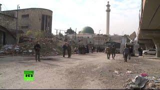 Съемочная группа RT первой побывала в освобожденных районах Старого города Алеппо