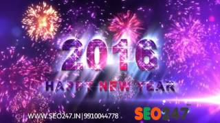 SEO 247 New Year Wishes 2016 : Fastest Growing SEO 247 in Delhi, Mumbai, Complete IT Services is a Digital Marketing services providing company offers entire...