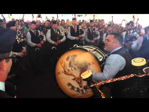 78th Highlanders Halifax Citadel Pipe Band, Maxville Beer Tent Medley 2014