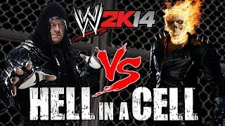 Nonton Wwe 2k14 S1e10   Undertaker Vs Ghost Rider  Hell In A Cell Match  Film Subtitle Indonesia Streaming Movie Download