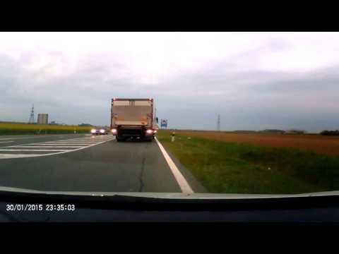 Kroatialaista kuorma-autoilijaa ei vain kiinnosta, röyhkeää ajelemista