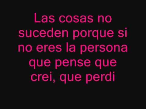 Mientes -Camila [Lyrics]
