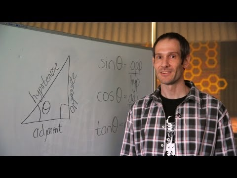 trigonometry - Study Maths at Curtin http://maths.curtin.edu.au Trying to figure out how to solve a right-angled triangle, but aren't up-to-speed with trigonometric functio...