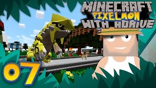 SHINY GROUDON! Minecraft PIXELMON with aDrive! Ep07 - PocketPixels Red Let's Play! by aDrive