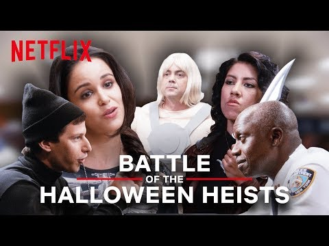 Brooklyn Nine-Nine | Battle of the Halloween Heists