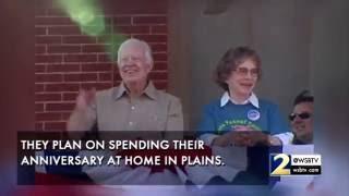 Video Jimmy and Rosalynn Carter celebrate 70th wedding anniversary MP3, 3GP, MP4, WEBM, AVI, FLV November 2017