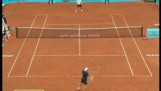 Madrid 2010: 2nd Round Roger v Becker (Highlights Part 2)