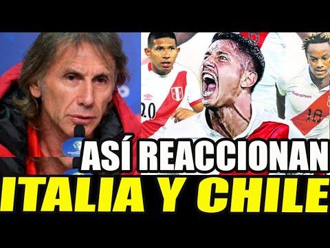 ¡ÚLTIMO MINUTO! REACCION DE ITALIA Y CHILE TRAS CONVOCATORIA DE LAPADULA A LA SELECCION PERUANA