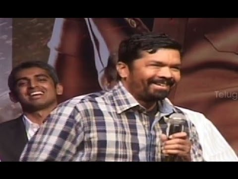 Posani Krishna Murali & Allu Arjun comedy on stage @ Race Gurram Success Meet