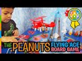 The Peanuts Movie Snoopy Flying Ace Board Game Unboxing