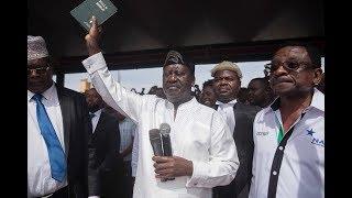 Alicho sema Raila Odinga baada ya kula kiapo cha Urais nchini Kenya