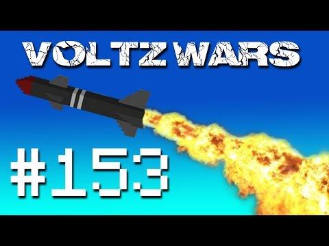Minecraft Voltz Wars - Space Death LAZER! #153