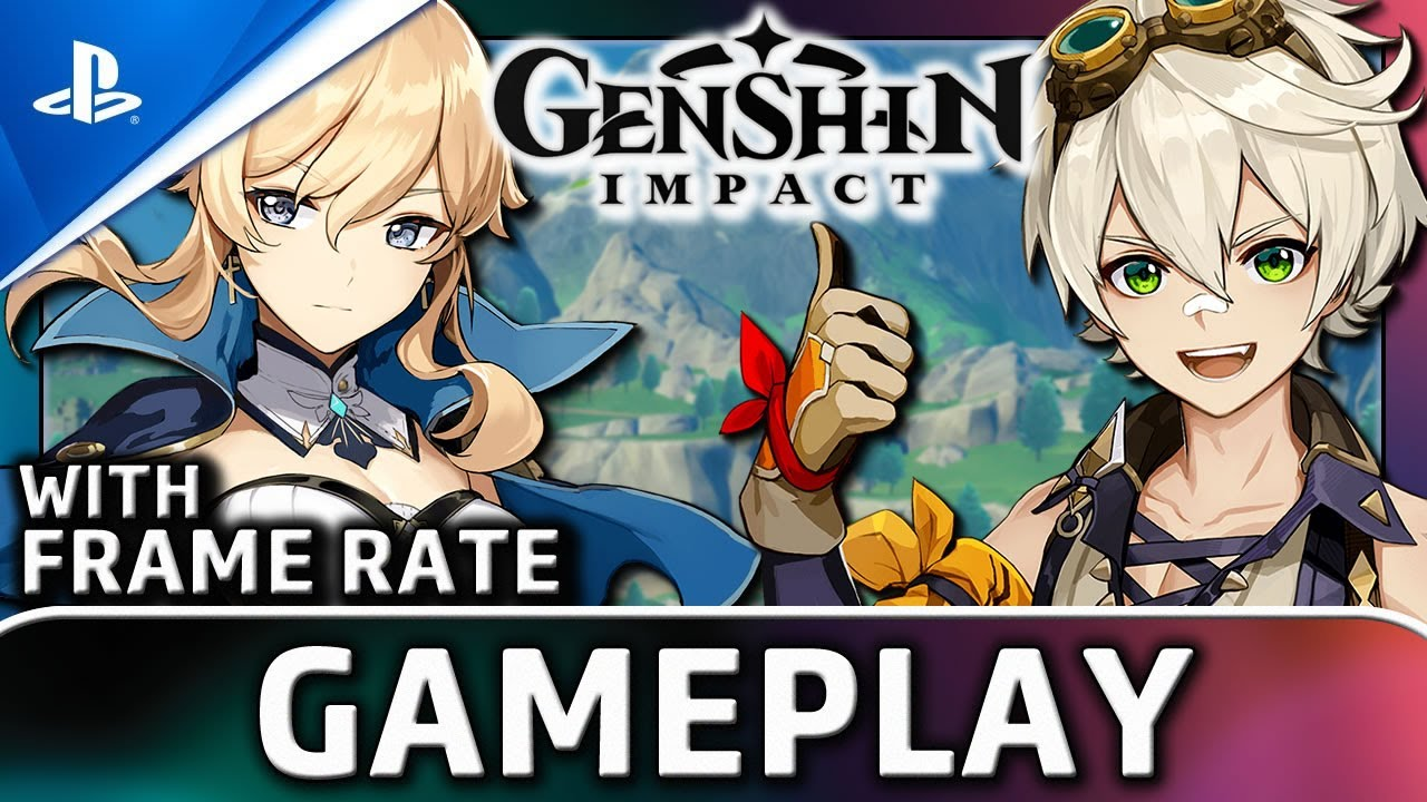 Genshin Impact | PS4 Gameplay and Frame Rate