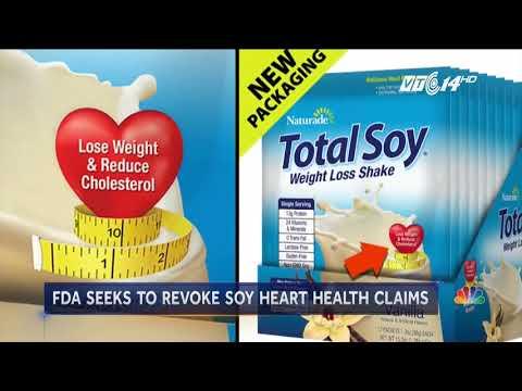 Vì sao Mỹ cấm quảng cáo các sản phẩm từ đậu nành tốt cho tim mạch?
