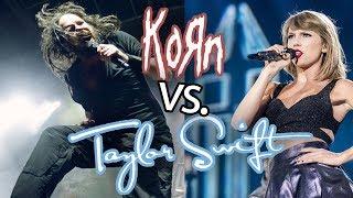 Korn vs. Taylor Swift - Twisted Romantics