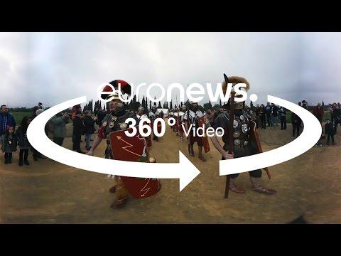 Ημέρες αναβίωσης της ζωής στην Ιτάλικα της Ισπανίας (βίντεο 360º)