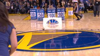 Fan Wins $5,000 Off Steph Curry Assist | 02.25.17 by NBA