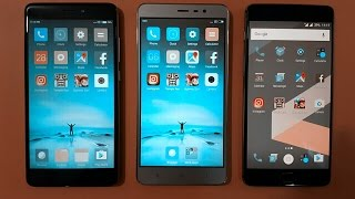 redmi note 4 speedtest vs redmi note 3 and one plus 3, we are doing a quick speedtest of these three mobiles... SUBSCRIBE our channel for more great videos.....