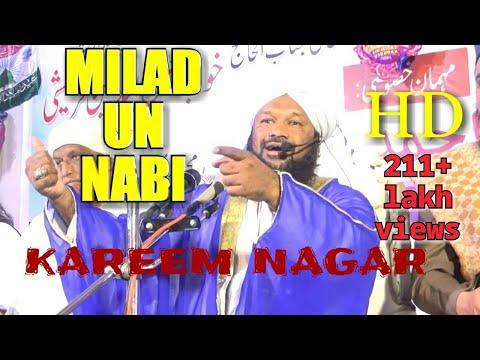 Video MILAD UN NABI KAREEM NAGAR BAYAN ALLAMA AHMED NAQSHBANDI SB download in MP3, 3GP, MP4, WEBM, AVI, FLV January 2017