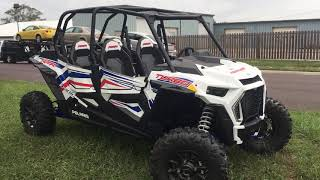 6. 2019 Polaris RZR XP Turbo 4 seat LE