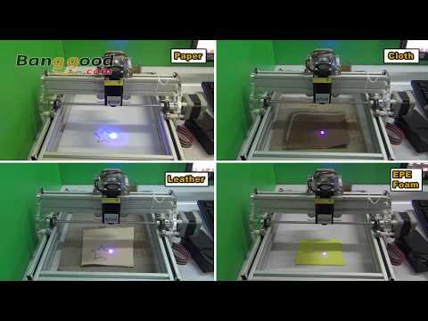 500mW Desktop DIY Laser Engraving Machine Laser Engraver Cutter - Banggood.com