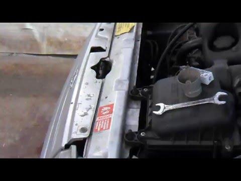 Инструкция по замене датчика температуры двигателя ваз 2109 фото